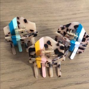 Anthropologie hair clips